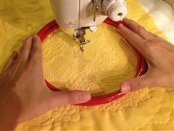 my favorite free motion quilting tool